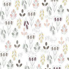 Prairie Flowers in Dusk (Hawthorne Threads - Roam)