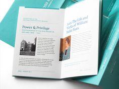 image Brochure Layout, Brochure Design, Editorial Layout, Editorial Design, Printed Materials, Magazine Design, Graphic Design Inspiration, Visual Identity, Exhibit