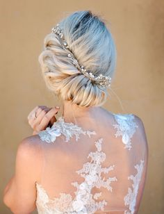bridal updo wedding day hair by the hair and make up company in carmel valley ca