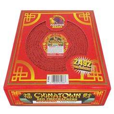 Phantom Fireworks : Products : Chinatown Red Crackers 2492 ct