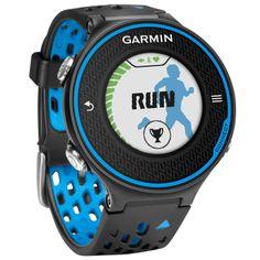 Garmin Forerunner® 620 HRM zwart/blauw bij Hardloopaanbiedingen.nl. Hardloophorloge met GPS en hartslagmeting #Garmin #hardlopen