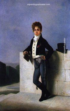 Domingos Sequeira Retrato de Conde de Farrobo - Domingos Sequeira, painting Authorized official website