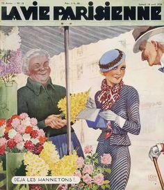 Georges Léonnec (1881 – 1940). La Vie Parisienne, 14 Avril 1934. [Pinned 1-iii-2015]