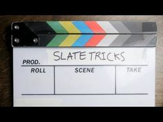 8 Tricks That& Make Using a Film Slate a Whole Lot Easier Film Class, Slate Board, Film Tips, Camera Techniques, School Reviews, Best Cinematography, Free Films, Watch Free Movies Online, Film School