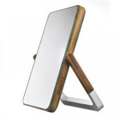 Bamboo Swivel Mirror