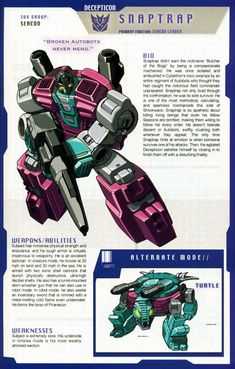 Transformers Universe - Gallery: G1 Seacons