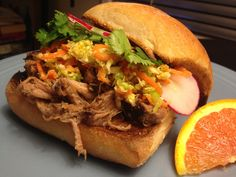 Five Spice Pulled Pork with Asian Slaw