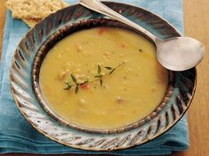Under The Table and Dreaming: Seventy Crock Pot Soup Recipes: slow cooker golden pea and ham soup