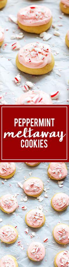 Peppermint Meltaway Cookies | Creme de la Crumb