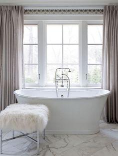 Soaking tub : Marcus Design: {designer profile: tiffany eastman interiors}