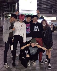 large.jpg (500×616) #pinkhair #friends #korean #korea #girlandboy