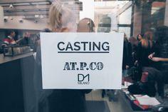 Giornata di casting a #Milano per #ATPCO… A presto aggiornamenti!  ATPCO #casting day in #Milan… Stay tuned!  #mfw2015