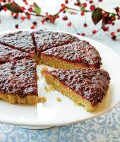 Vegan Raspberry Almond Torte