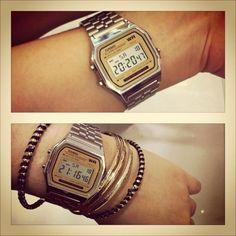 my retro Casio watch.