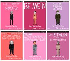 dictator valentines!