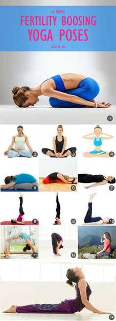 14 Sample Fertility Boosing yoga poses