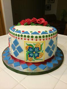 Talavera cake