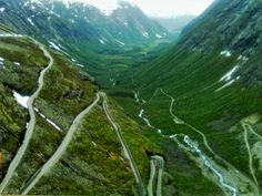 Trollstigen, Norsko