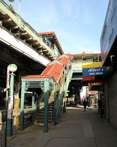 Simpson Street Subway Station, Longwood, Bronx, New York City