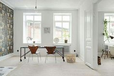 my scandinavian home: A simply stunning and calm Swedish space Minimalist Scandinavian, Scandinavian Interior Design, Scandinavian Home, Beautiful Lights, Beautiful Space, Man Of The House, Fashion Lighting, Interiores Design, Hygge