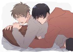 Animes Emo, Fanarts Anime, Manga Anime, Anime Art, Anime Guys, Anime Love, Manhwa, Detective Aesthetic, Cute Gay