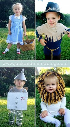Wizard of Oz Toddler Halloween Costumes