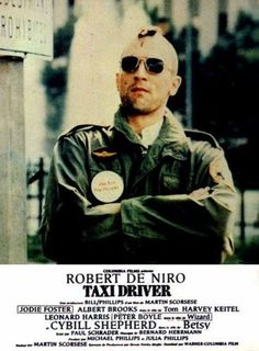 Taxi Driver -- Paul Schraders gritty screenplay depicts the ever-deepening alienation of Vietnam Veteran Travis Bickle (Robert De Niro in a tour-de-force performance), a psychotic cab driver who obsessively cruises the mean streets of Manhattan.