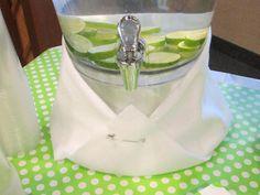 baby shower water idea