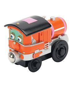 Loving this Wood Piper Train Engine on #zulily! #zulilyfinds