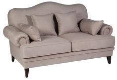 Метки: Маленькие диваны.              Материал: Ткань, Дерево.              Бренд: MHLIVING.              Стили: Классика и неоклассика.              Цвета: Бежевый.