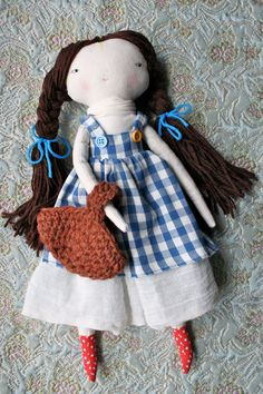 CUSTOM LISTING FOR ANGELA - please do not purchase unless you are she    Dorothy! A funky little lu version. :D  ********  if you are interested in