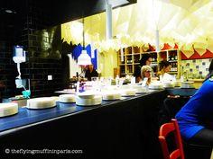 Medi Terra Nea  13 rue du Faubourg-Montmartre  75 009 Paris  Tel : 01 47 70 53 04     Ouvert tous les jours sauf le dimanche    On connaissait les restaurants japonais et leurs tapis roulants, c'est désormais les tapas qui cèdent à la mode.