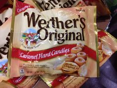 We love the classic taste of Werther's Original caramel hard candies.