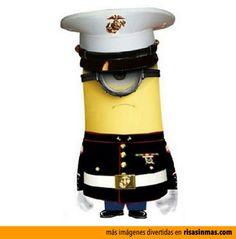 Minion Marine.