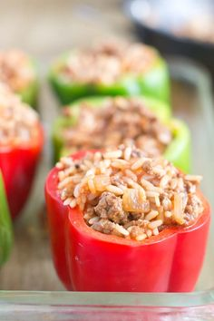 The History of Stuffed Peppers - Find out when the trend for stuffed peppers started and get stuffed pepper recipe ideas from around the world.