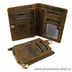 Luxusní pánská peněženka Wallet, Fashion, Luxury, Moda, Fashion Styles, Handmade Purses, Fasion, Diy Wallet, Purses