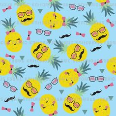 Hipster Pineapples – KNITorious Fabric