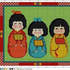 Les Fans de Kokeshis et Motifs Japonais: - Le Blog des Dames