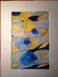 """In the deep blue"". By H.P.Meirik."