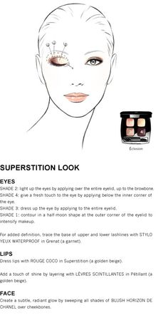 Superstition Look using Chanel's Spring 2012 Collection