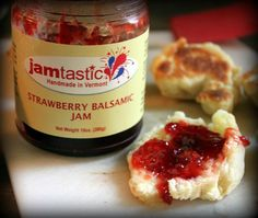 Jamtastic Jams are small batch jams just like your grandmother used to make! Jams are all natural and never have any preservatives! Jamtastic Jams are Handmade in Vermont, Great on your morning toast or paired with your favorite local cheeses. All flavors: $7.99.