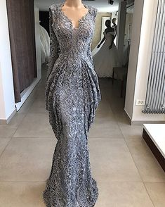 2019 Lace Sheath Lace Evening Dresses Mermaid Sequins Formal Event Party Gown Plus Size Pageant Dresses Custom Made Mermaid Evening Dresses, Evening Gowns, Pageant Dresses, Formal Dresses, 2015 Dresses, Formal Wear, Casual Dresses, African Lace Dresses, Party Gowns