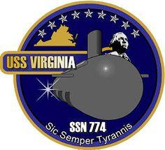 USS Virginia (SSN 774) Ship Crest