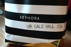 miranda loves: 2015 Sephora VIB Sale and Black Friday Haul