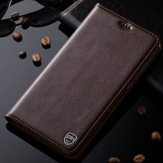 For Samsung Galaxy Note 4 N9100 Case Genuine Leather Cover For Samsung Galaxy Note 5 N9200 Magnetic Stand Flip Phone Case #Affiliate #FlipPhone