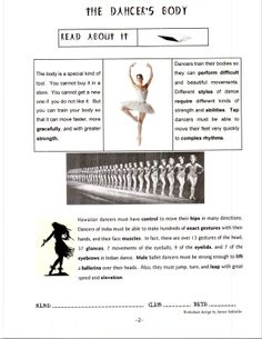 The Dancer's Body by Jamee Schleifer 2
