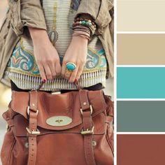 Odpowiednia dobrana kolorystyka to podstawa! Colour Pallette, Colour Schemes, Color Combos, Colour Combinations Fashion, Fashion Colours, Color Combinations For Clothes, Blue Fashion, Mode Inspiration, Color Inspiration