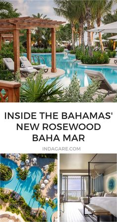 A first look at the new Rosewood Baha Mar, the Bahamas new resort complex in Nassau. Bahamas Resorts, Bahamas Vacation, Cruise Vacation, Vacation Trips, Cheap Tropical Vacations, Rosewood Hotel, Family Friendly Resorts, Bahama Mama, Beach Trip