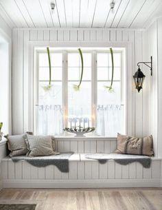 Window Seat + favorite book + wine = happiness!
