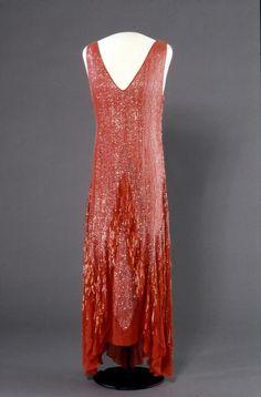 Dress 1929 Nsjonalmuseet for Kunst, Arketektur, og Design